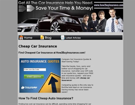 affordable car insurance: