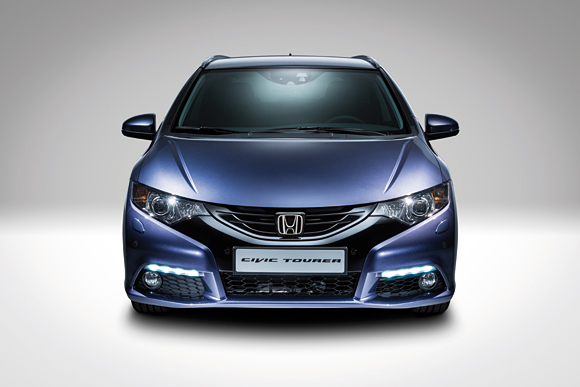 Frankfurt Motor Show 2013 Presents The New Civic Tourer