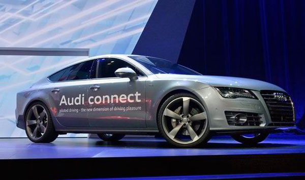 Audi Self-drive System with A7
