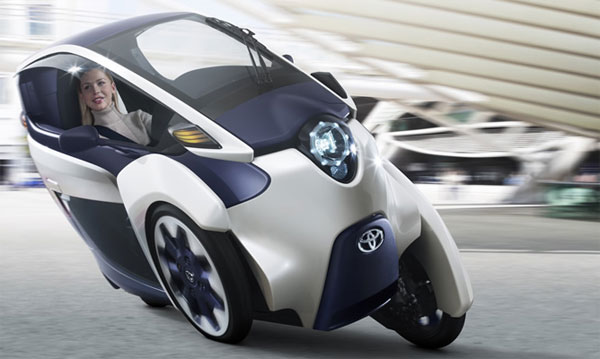 Toyota Compact i-ROAD Electric Car