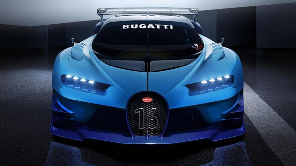 The Bugatti Vision Gt From Video Games To Reality Auto Usp