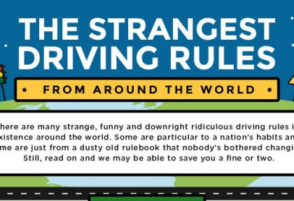 The Strangest Driving Rules from Around the World
